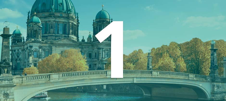 Deutschland als beliebtestes Land für ein Auslandsstudium in Europa
